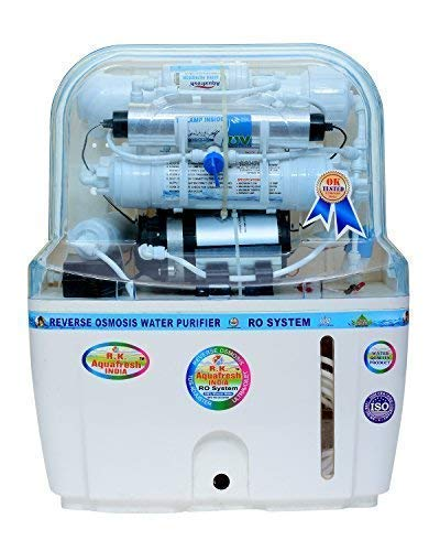 R. K. Aqua Fresh India 15-Liters RO+UV+UF+TDS Adjuster Water Purifier (White)