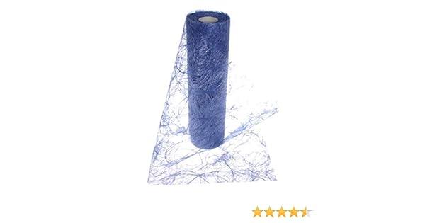 HKT Home Deco Sizoweb Chemin de Table Bleu fonc/é 20/cm Rouleau de 25/m/ètres/ /64/035/R 200