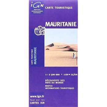 Carte routière : Mauritanie