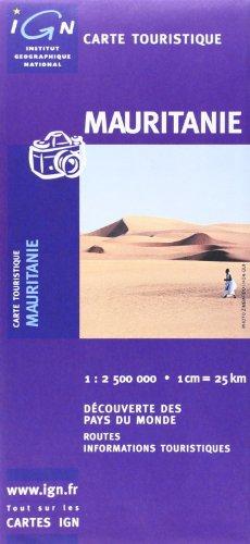 Carte routire : Mauritanie