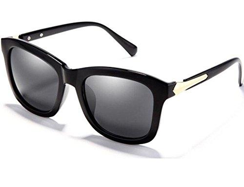 RENMEN Polarisierte Sonnenbrille Damen schwarz Mode Sonnenbrillen, 1
