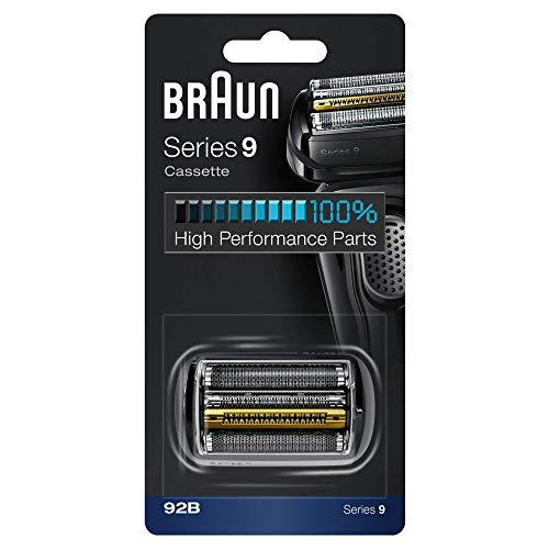 Braun 92B Cartuccia di ricambio per lame e cassette per rasoio elettrico - nero
