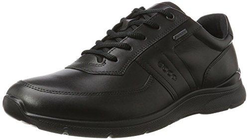 Ecco Irving, Zapatos de Cordones Derby para Hombre, Negro (Black), 43 EU