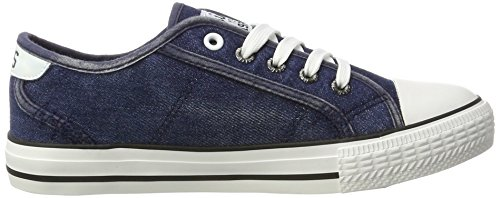 HIS 151-020, Sneakers basses femme Blau (navy washed jeans)