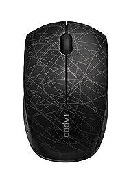 Rapoo 3300P Plus 2.4GHz Wireless Optical Mini Mouse Black
