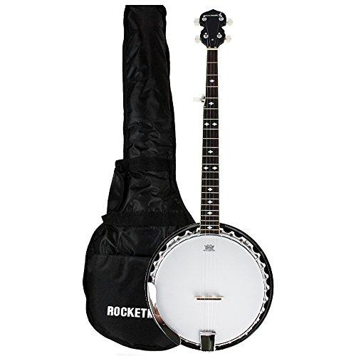 Rocket Music BJM01 Metal Pot Banjo (5 Saiten)