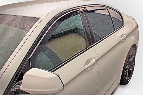 J&J AUTOMOTIVE Windabweiser Regenabweiser für Mazda 6 Kombi 5-türer 2002-2007 4tlg HEKO dunkel
