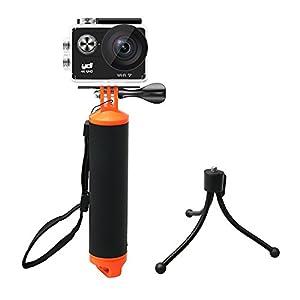 YDI Poignée Flottante étanche pour GoPro 5/4/3/2/1, YDI, Xiaomi Yi, SJCAM, APEMAN, AKASO, Campark, VTIN, TopElek, Victure, WiMiUS Caméra de Sport