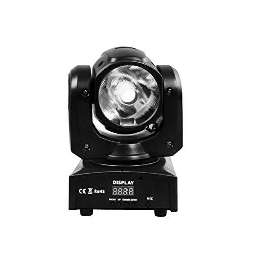 ▪ Disco-Lichterkette, LED-Lampe, um 360 ° drehbar, RGBW Farbmischsystem