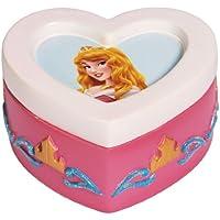 Westland Giftware Disney-Scatolina portagioie per bambini, in resina, altezza: 4,5 cm, a forma di cuore, motivo Bella addormentata nel bosco