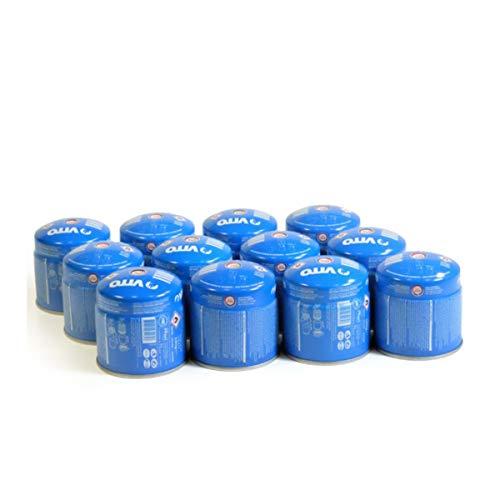 Pack 12 cartouches gaz 190g VITO butane perçable sécurité stop-gaz TUV