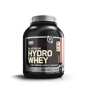 Optimum Nutrition Platinum Hydro Whey Protein Powder, Super Strawberry, 1.6 kg