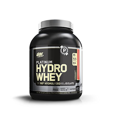 Optimum Nutrition Protéine Platinum Hydro Whey Fraise 1590 g