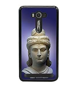 PrintVisa Mahan Ashok Samrat High Glossy Designer Back Case Cover for Asus Zenfone 2 Laser ZE500KL