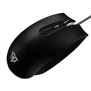 ThunderX3 TM30 – Professionelle Gaming-Maus – (AVAGO 3310 optischer Sensor, LED-Hintergrundbeleuchtung, mechanischer Omron-Schalter, absolute Anpassung) Schwarze Farbe