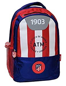 Atletico de Madrid MC-232-ATL Mochila Adaptable a Carro, 42 cm