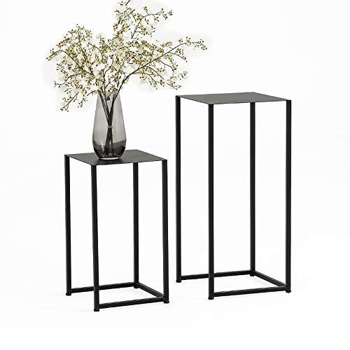 Tische MEIDUO Beistelltisch, Meta-Schachteltische Sofa Table End Table für Schlafzimmer Wohnzimmer Modernes Design 2er Set Computertisch (Farbe :...