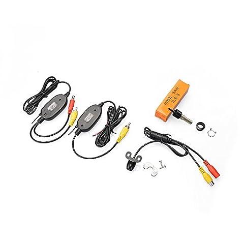 Gzzsh Sans fil Transmetteur et récepteur vidéo couleur Vision nocturne