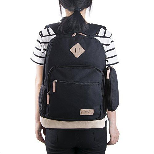 Imagen de  escolares, coofit  grande  de viaje casual bolso con estuches escolares para mujer y hombre alternativa