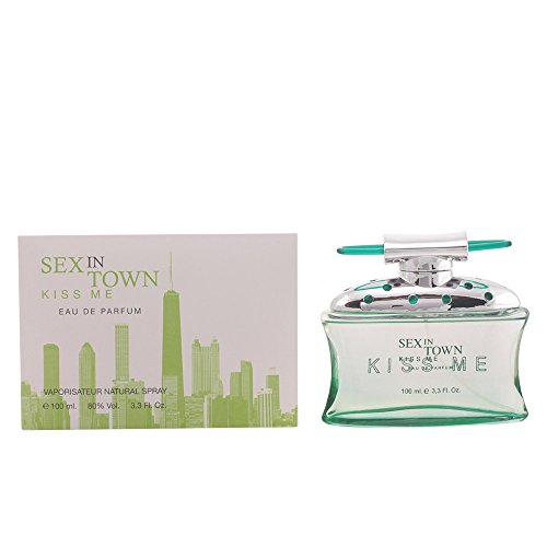 Concept V Design, Sex in Town Kiss Me, Eau de Parfum spray da donna, 100 ml