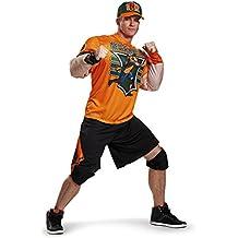 John Cena Adult Muscle Fancy dress costume X-Large