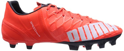 Puma evoSPEED 1.4 AG, Herren Fußballschuhe Orange (lava blast-white-total eclipse 01)