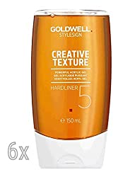 Goldwell Hardliner 6 x 150 ml Style Sign Texture GW Ultrastarkes Acryl Gel