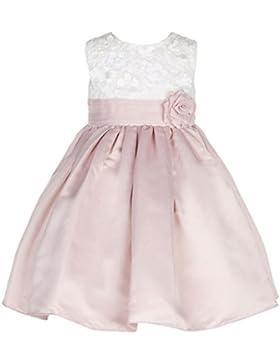 Dream Bride A-Linie Bowknot Satin Blumenmaedchen Kleid