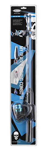 Fladen Wilderness Angel Starter Set Junior 1,25m, Farbe:blau