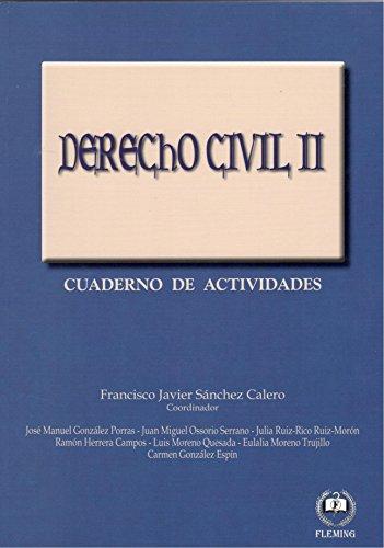 Derecho Civil II: Cuaderno de Actividades