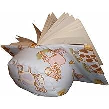 Atril para leer en la cama Animalitos / bookrest /almohadon de lectura