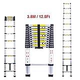 cohesivetech escalera telescópica aluminio–EN131estándares