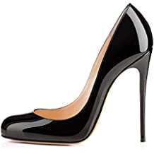 abf9c6d272580 Soireelady Escarpins Femme Sexy,Coupe fermées femme,Talon Haut Aiguille  Chaussures