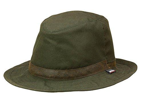 Cazador sombrero verde oliva con Reversible de bombilla (con Miporex, de skogen L/58–59