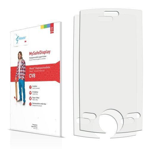 2x Vikuiti MySafeDisplay Displayschutzfolie CV8 von 3M passend für CECT Anycool T318