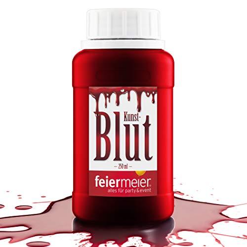 PartyMarty Kunstblut Filmblut Blut rot / künstliches Blut für Halloween Vampirblut / 250ml