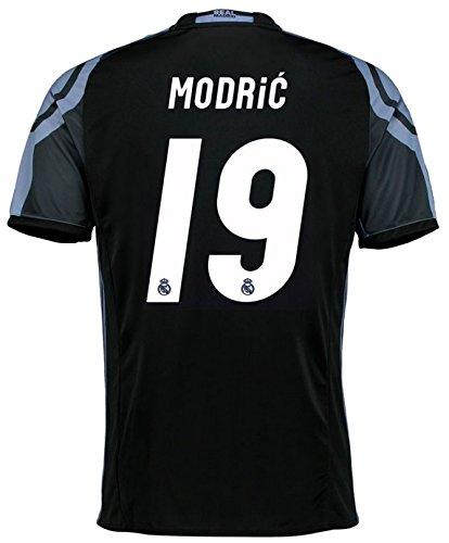 Trikot Adidas Real Madrid 2016-2017 Champions League (Modric 19, 152) (Youth-real Jersey Ronaldo Madrid)