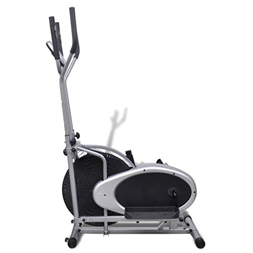 vidaXL Heimtrainer Ergometer Fitness Stepper Walking Ellipsentrainer - 4