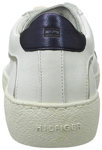Femme Sneakers Hilfiger Blanc bianco Bassi S1285uzie Tommy 1a1 1n7XUC1w