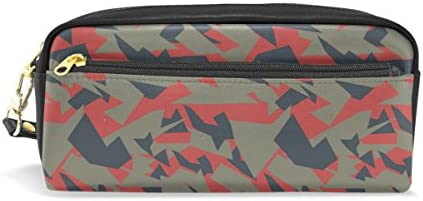Coosun militaire de camouflage Texture Portable Cuir PU Trousse Trousse Trousse d'école Pen Sacs papeterie Pouch Case Grande contenance Sac de maquillage B075NL6Z5H   Des Styles Différents  1185e8