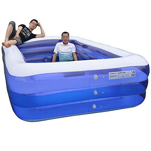 Szblk Übergroße Kinder aufblasbare Pool Verdickung Baby Baby Home Swimming Eimer große Erwachsene Kinder Planschbecken (Größe : XXXL)