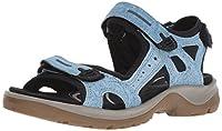 RECEPTOR-Technologie - max. Laufkomfort durch Unterstützung der natürlichen BewegungsabläufeLeder ist strapazierfähig und langlebigPraktischer KlettverschlussDie Offroad Andes II Sandale für Damen von Ecco ist der perfekte Begleiter sowohl fü...