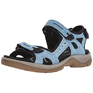 Ecco Ecco Offroad, Women's Wedge Heels Sandals, Blue (Indigo 5 1321), 6.5/7 UK (40 EU)