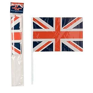 Gifts 4 All Occasions Limited SHATCHI-1154 SHATCHI - Banderas de la bandera de Reino Unido para fiesta de 90 cumpleaños, diseño de bandera de Reino Unido, multicolor