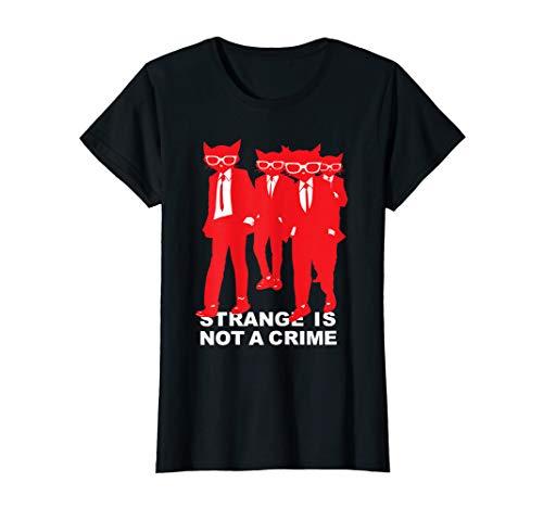 Emily The Strange Strange Is Not A Crime T-Shirt