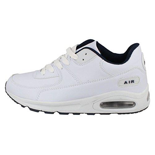 Airtech , Baskets mode pour homme Blanc - blanc