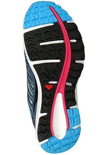 Salomon Schuhe X-Scream GTX Gore-Tex 369811 Blau Laufschuhe Blue Line Blau Blue Line