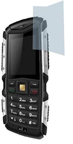 4ProTec Kazam Life R5 (2 Stück) Premium Bildschirmschutzfolie Displayschutzfolie kristallklar Kratzfest UND PASSGENAU