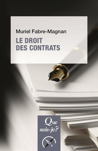 Le droit des contrats par Muriel Fabre-Magnan