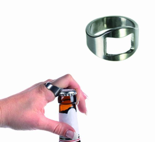 Out of the Blue Novelty Ring Beer / Bottle Opener - Mens Perfect Ideal Christmas Present / Gift / Stocking Filler Ideal for Opening that Cool Bottle